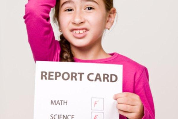 Ningún niño disfruta el llevar a casa una boleta con malas calificaciones a sus padres.
