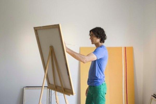 Mezcla tus pinturas al leo con aceite de linaza para ayudar a que se sequen de forma m£s uniforme.