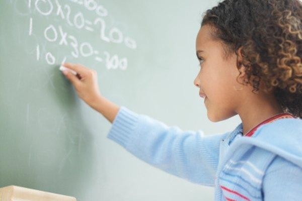 Los factores incluyen la multiplicación y la división.