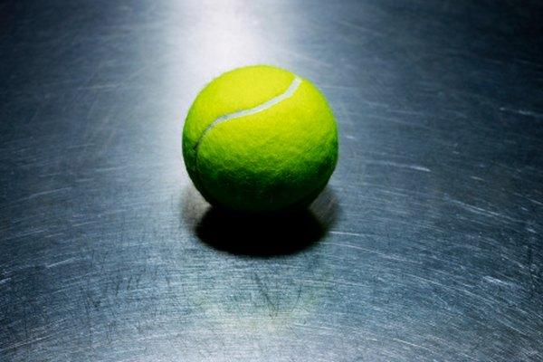 Puedes hacer tu propia silla con pelotas de tenis.
