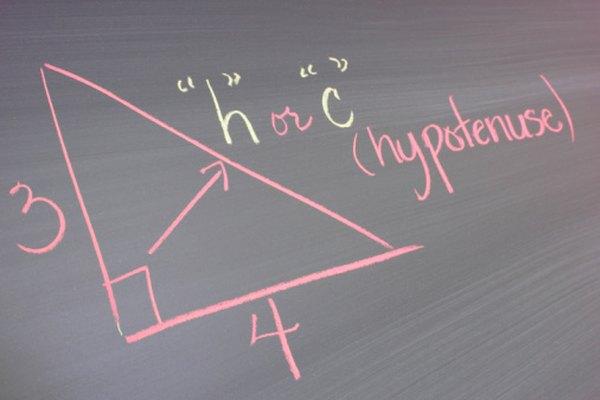Utiliza el teorema de Pitágoras para encontrar la hipotenusa en proyectos matemáticos basados trigonométricas.