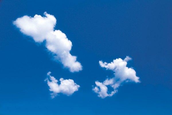 Las nubes pueden ser extremadamente difíciles de dibujar de forma realista.