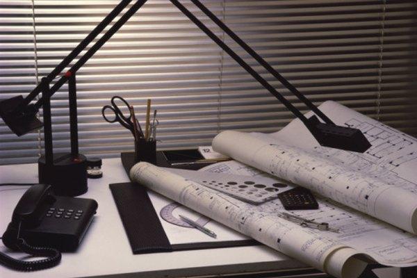 Una lámpara de armazón puede colocarse directamente sobre un área de dibujo.