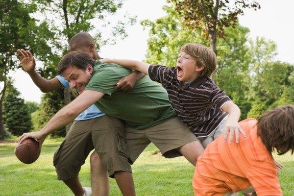 Los juegos de fútbol crean una gran cantidad de fuerzas de empuje.