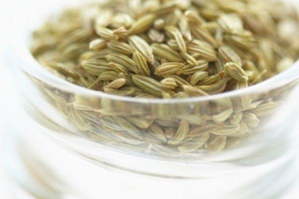 Las semillas de hinojo tienen un sabor a regaliz.