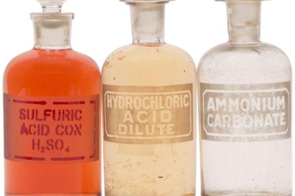 Las sustancias ácidas tienen propiedades distintas.