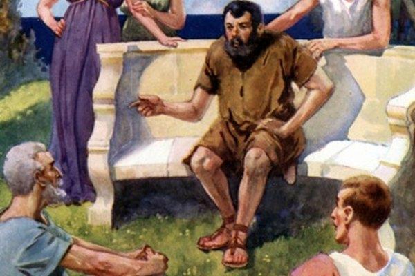Esopo es un legendario narrador griego de cuentos morales.