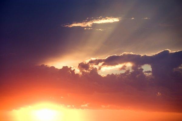 Puedes describir una maravillosa puesta de sol a alguien que no puede ver.