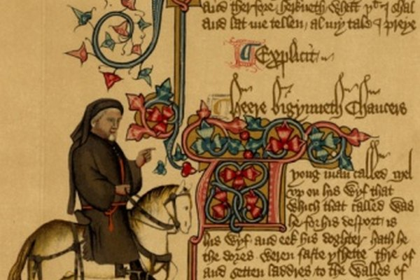 Geoffrey Chaucer es considerado uno de los más grandes poetas de la Edad Media.