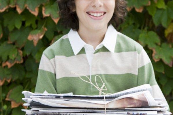 Los periódicos reciclados y otros papeles ayudan al medio ambiente, reduciendo el uso de energía y creando empleos.