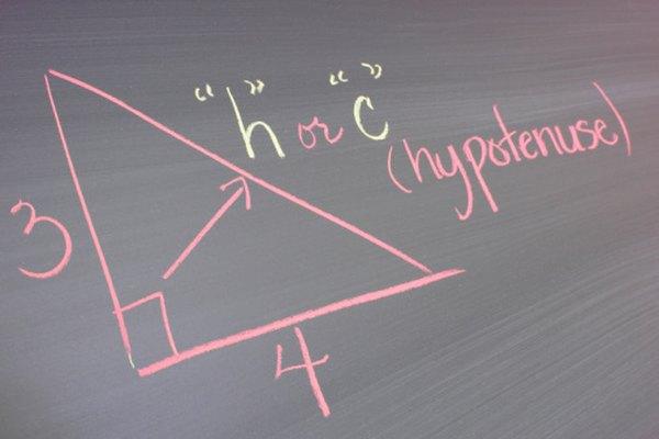 El valor de la hipotenusa (