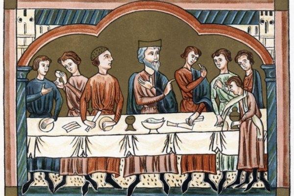 Las clases altas tenían cocinas bien equipadas y con buen personal en la época medieval.