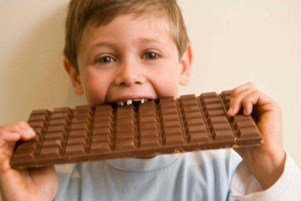 Los proyectos de ciencias con chocolate son populares.