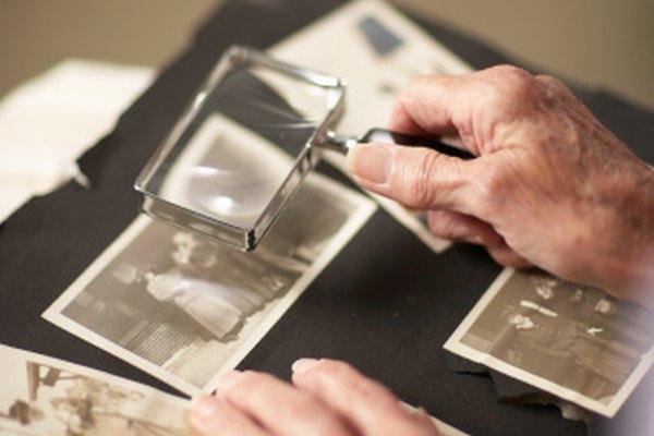 Las fotografías antiguas pueden quedar destruidas por el moho.
