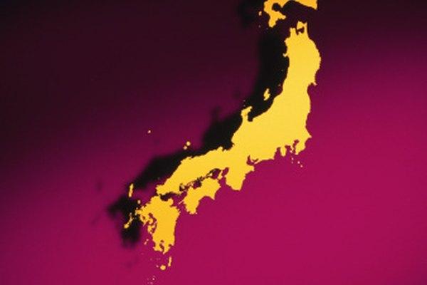 Japón fue formado por placas oceánicas convergentes.