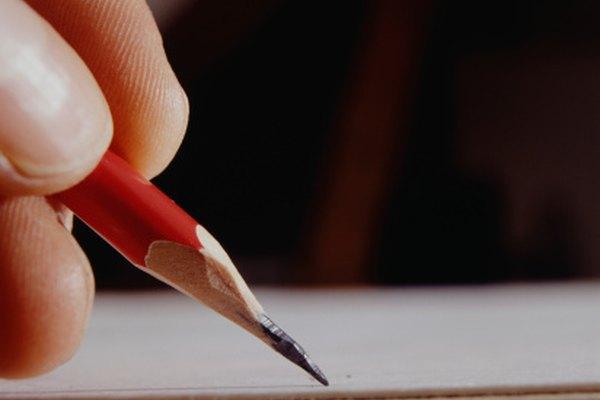 Deja que la inspiración te toque cuando escribas poesía.