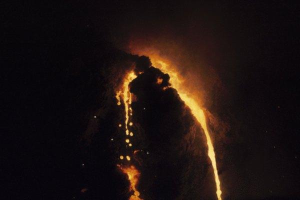 Los Magmar nacen en volcanes activos.