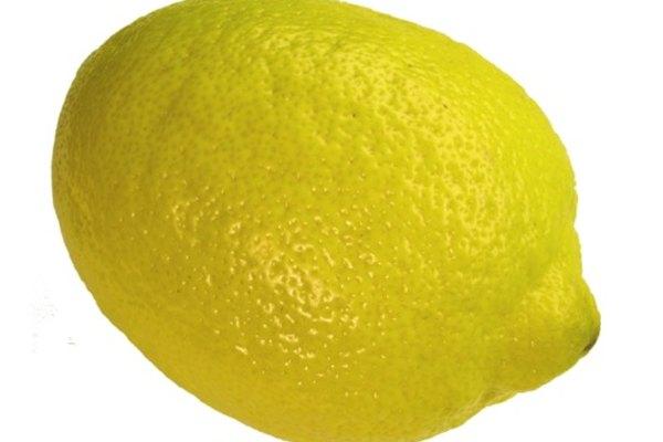 El jugo de limón es naturalmente ácido
