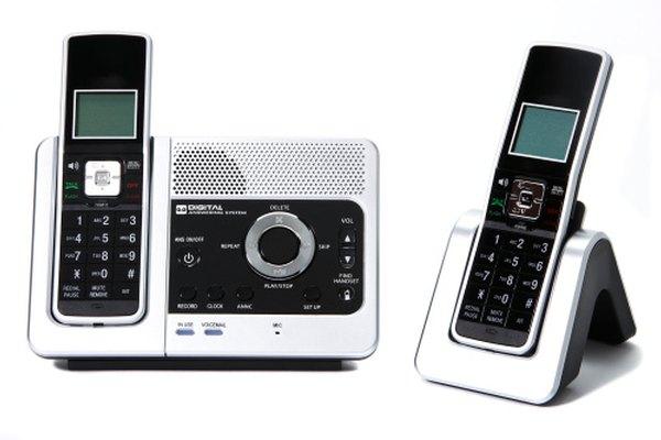 Teléfonos inalámbricos.