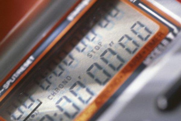 La mayoría de los cronómetros no pueden registrar un milisegundo.