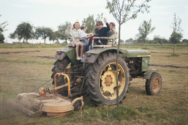 Ponle fecha a los tractores John Deere por su número de serie.