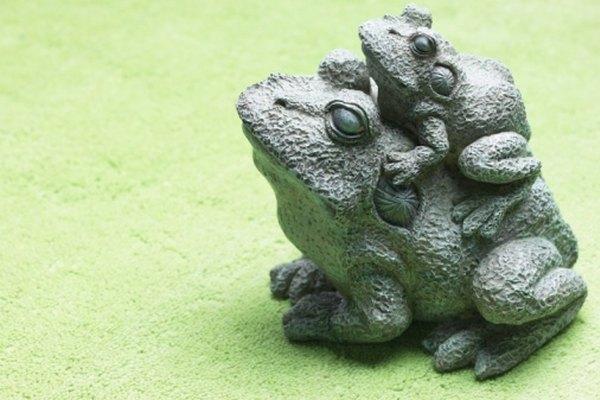 Esta estatua se puede copiar con un molde de látex.