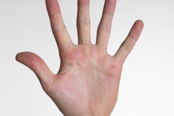 El pase con músculos usa los músculos en la base del pulgar y el meñique.