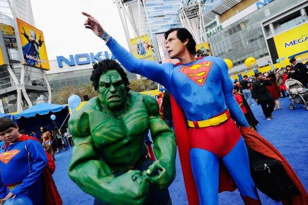 Hulk y Superman se enfrentaron una vez en el crossover