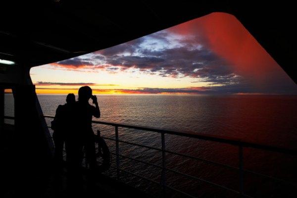 Los cruceros visitan muchos lugares exóticos e interesantes.