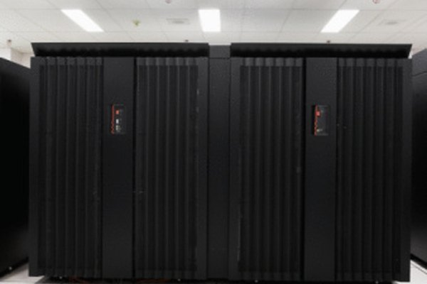 Mainframe computers provide high-powered computing capabilities.