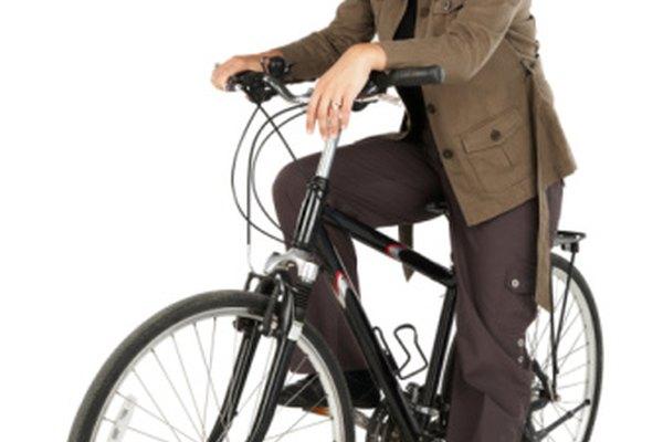 Calcula tu velocidad en la bicicleta para determinar la intensidad del ejercicio.