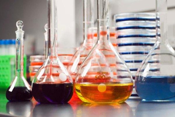 Calcula el valor Kf para varios químicos.