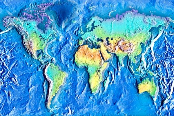 Cómo calcular los gradientes en un mapa topográfico.