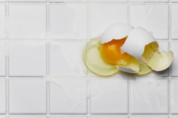 El experimento termina cuando el huevo se rompe.