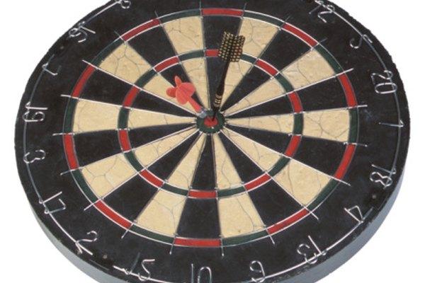 La puntería adecuada es el factor más importante en el juego de dardos.