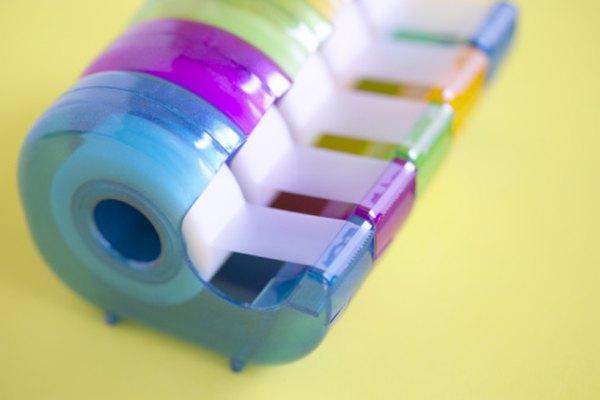 Es posible hacer tu propia cinta adhesiva.