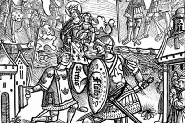 Sir Thomas Malory creó una versión conocida de la leyenda del Rey Arturo.