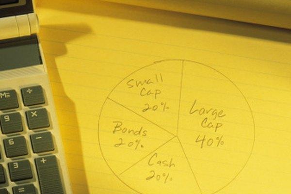 Los gráficos circulares representan porcentajes, pero los ángulos de las cuñas se miden en grados.