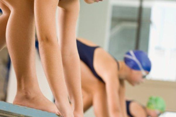 Las competencias de natación forman la perseverancia.