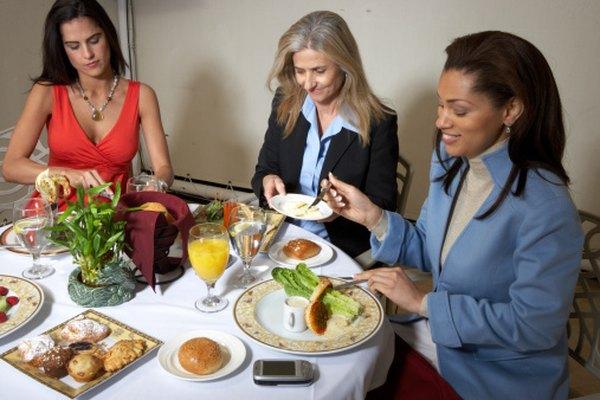 Un almuerzo de negocios debe ser simple, saludable y productivo.