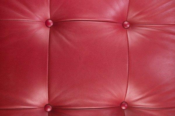 El cuero sintético está diseñado para que parezca cuero.