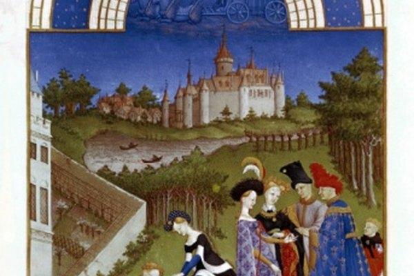 Los hermanos Limbourg, pintores góticos, fueron famosos por sus manuscritos ilustrados.