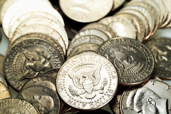 Revisa las imágenes de las monedas medio Dólar Kennedy.