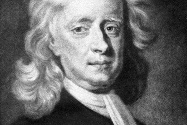 Las unidades de fuerza en el sistema métrico llevan el nombre de Sir Isaac Newton.