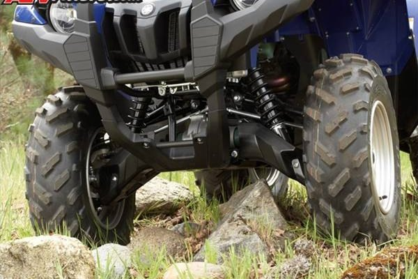 The front end is a particular problem area for modern day ATVs.