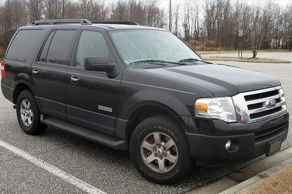 Replace the thermostat on your Ford Expedition.