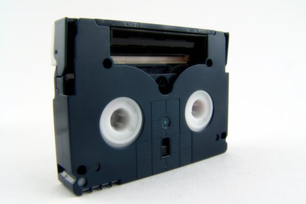 An 8mm Video Is Shot Using Tape