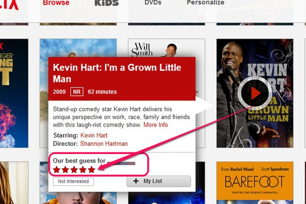 Netflix Rating Example