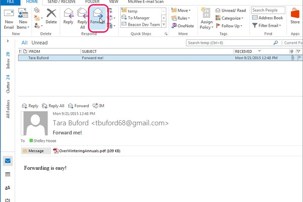 How to Send a Bulk Email Using Outlook | It Still Works