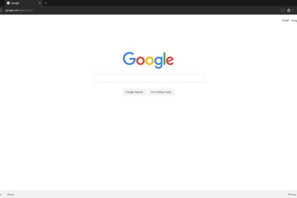 find google in edge